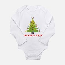 Chemist's TREE! HOLIDAY Long Sleeve Infant Bodysui