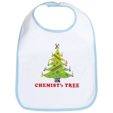 Chemist's TREE! HOLIDAY Bib