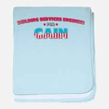 Building services engineer fo baby blanket
