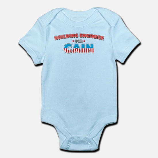 Building engineer for Cain Infant Bodysuit