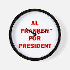 AL FRANKEN FOR PRESIDENT™ Wall Clock