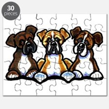 Three Boxer Lover Puzzle