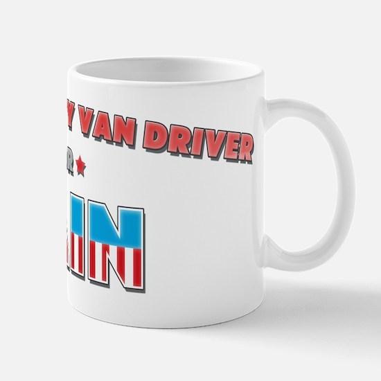 Light Delivery Van Driver for Mug