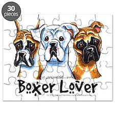 Boxer Lover Puzzle