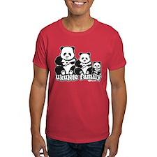 Ukulele Panda Family T-Shirt