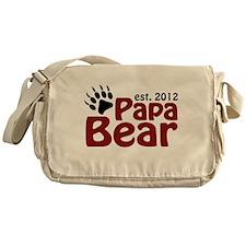 Papa Bear Claw Est 2012 Messenger Bag