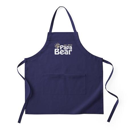 Papa Bear Claw Est 2012 Apron (dark)