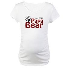 Papa Bear Claw Est 2012 Shirt