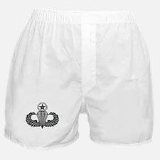Master parachutist -- B-W Boxer Shorts