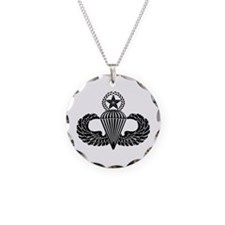 Master parachutist -- B-W Necklace
