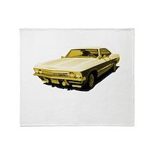 Chevy Impala Throw Blanket