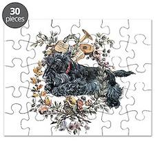 Scottish Terrier Wreath Puzzle