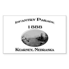 Kearney Infantry Parade Decal