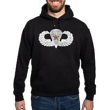 Combat Parachutist 1st -- B-W Hoodie