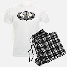 Combat Parachutist 1st -- B-W Pajamas