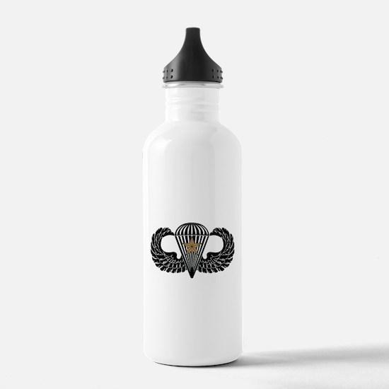Combat Parachutist 1st -- B-W Water Bottle