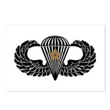 Combat Parachutist 1st -- B-W Postcards (Package o