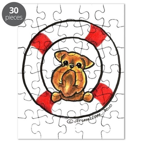 Brussels Griffon Rescue Puzzle