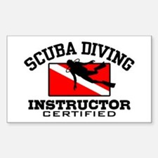 Scuba Diving Instructor Decal