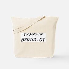 Famous in Bristol Tote Bag