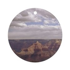 Holiday Grand Canyon Ornament (Round)
