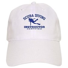Scuba Diving Instructor Baseball Cap