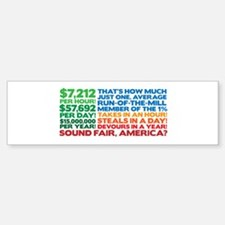 How is that fair? Bumper Bumper Sticker