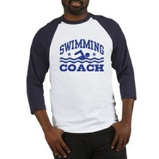 Swimming Coach Baseball Jersey