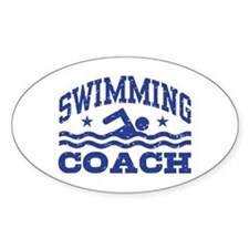 Swimming Coach Decal
