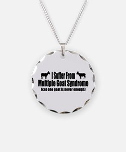 Multiple Goat Syndrome Necklace