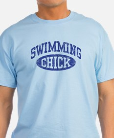 Swimming Chick T-Shirt