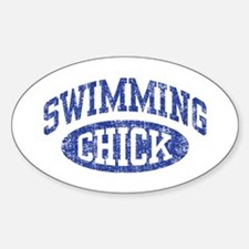 Swimming Chick Decal