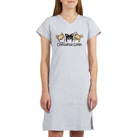Longhair Chihuahua Lover Women's Nightshirt