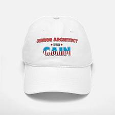 Junior architect for Cain Baseball Baseball Cap