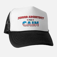 Junior architect for Cain Trucker Hat