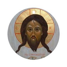 Holy Mandylion Ornament (Greek)