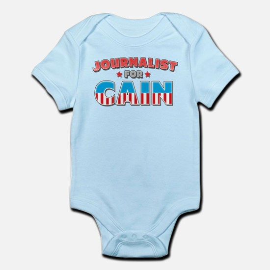 Journalist for Cain Infant Bodysuit