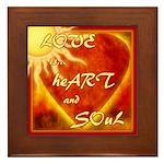Love is... Framed Tile