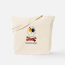 Breakfast Pirate... Tote Bag