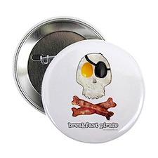 "Breakfast Pirate... 2.25"" Button"