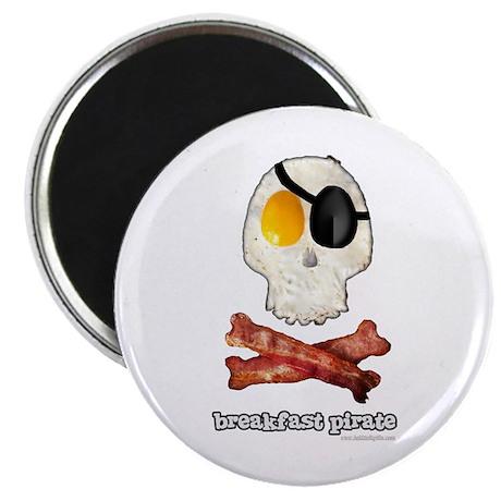 "Breakfast Pirate... 2.25"" Magnet (10 pack)"