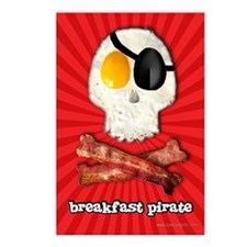 Breakfast Pirate... Postcards (Package of 8)