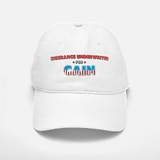 Insurance underwriter for Cai Baseball Baseball Cap