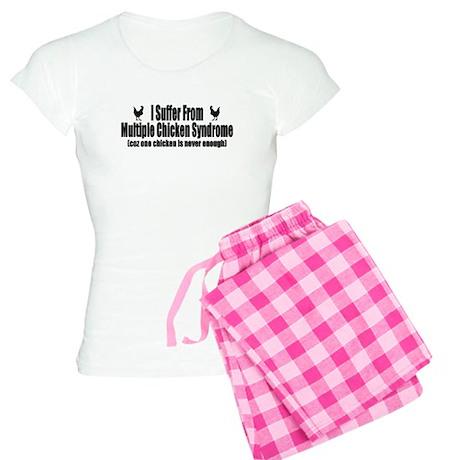 Multiple Chicken Syndrome Women's Light Pajamas