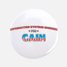 """Information systems engineer 3.5"""" Button"""