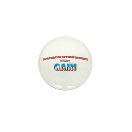 Information systems engineer Mini Button (100 pack
