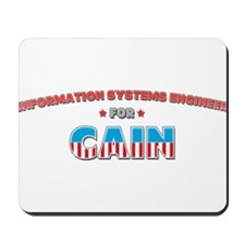 Information systems engineer Mousepad