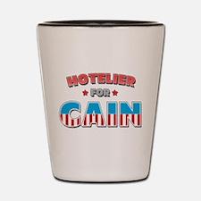 Hotelier for Cain Shot Glass