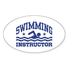 Swimming Instructor Decal