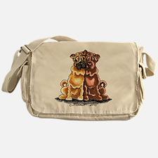 Shar Pei Lover Messenger Bag